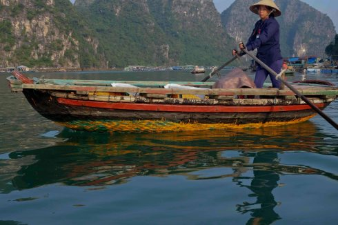 Halong Bay villager