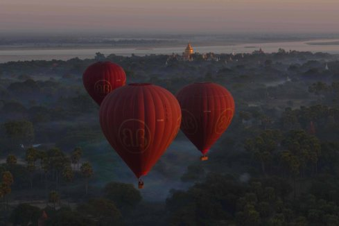 Ballons over Bagan!
