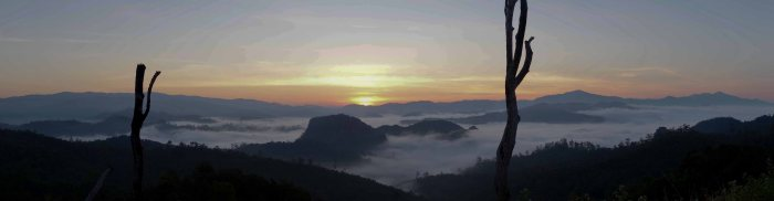 Sunrise over Pang Ma Pha