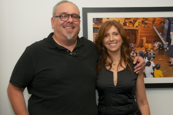 Skirball's VP, Jordan Paimer and Director Gabriela Böhm